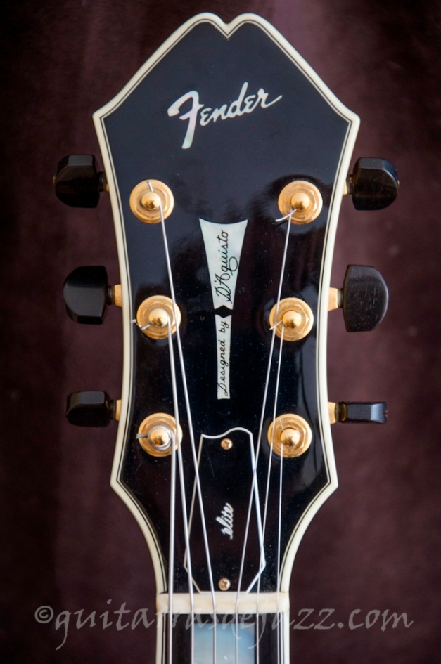 9.- Fender D'Aquisto