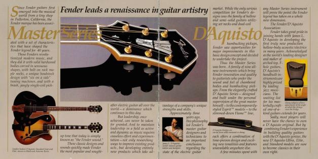 x - Catálogo de Fender D'Aquisto Élite pag
